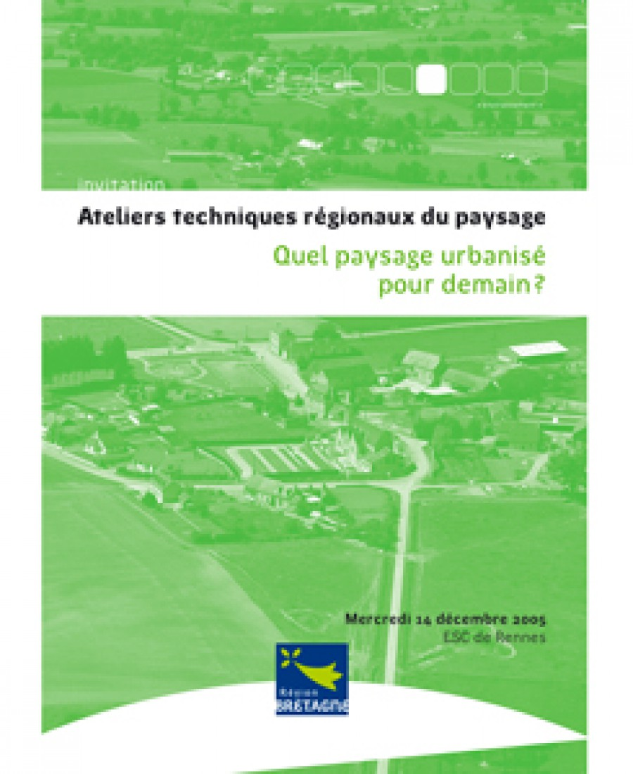 Conf rences am nagement du territoire agence laure for Agence paysage angers